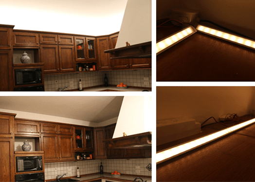 Emejing Strisce Led Per Pensili Cucina Pictures - augers.us ...