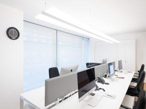 Illuminazione dell'ufficio: 5 principi da applicare